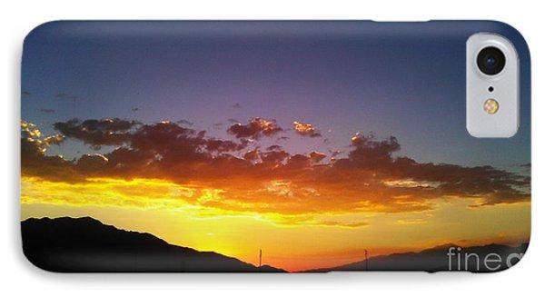 Monsoon Sunset IPhone Case by Chris Tarpening