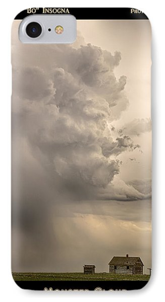 Monster Cloud Poster IPhone Case by James BO  Insogna