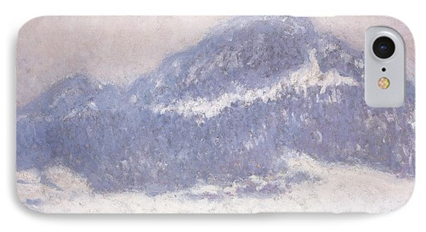 Mont Kolsaas IPhone Case by Claude Monet