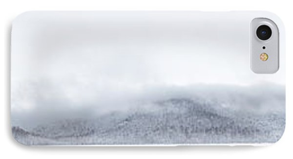 Mont Saint Hilaire  Lac Hertel On A Winter Day IPhone Case
