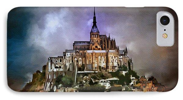 Mont Saint Michel   Phone Case by Andrzej Szczerski