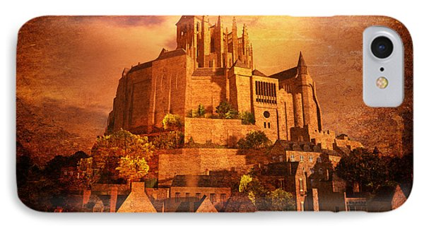 Mont Saint-michel IPhone Case by Kylie Sabra