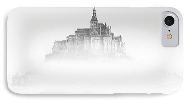Mont Saint-michel IPhone Case by Sebastian Musial