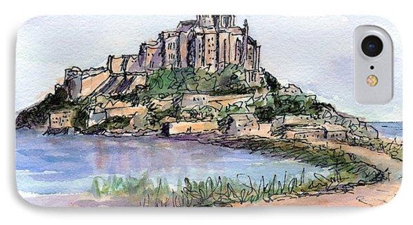 Mont St. Michel IPhone Case