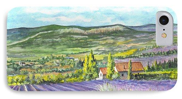 Montagne De Lure En Provence Phone Case by Carol Wisniewski