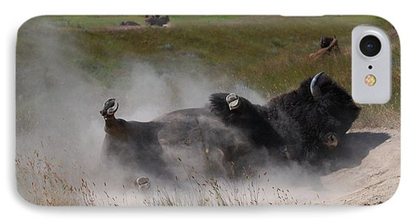 Montana Bison 1 Phone Case by T C Brown
