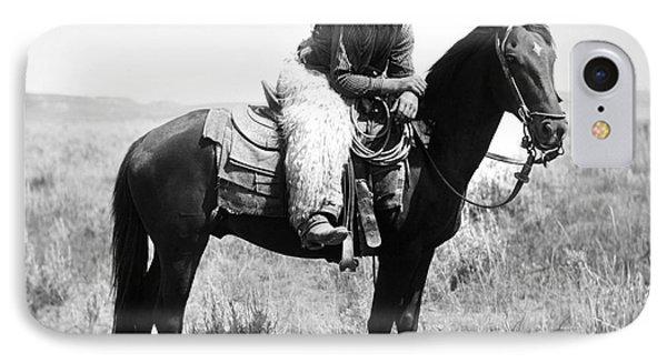 Montana Cowboy 1904 Phone Case by Granger