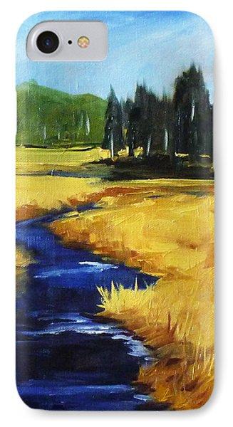 Montana Creek Phone Case by Nancy Merkle