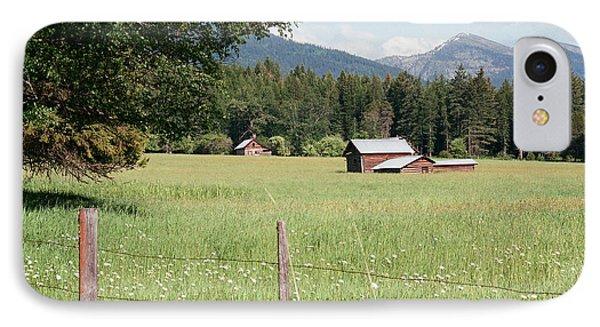 Montana Homestead IPhone Case