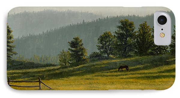 Montana Morning Phone Case by Crista Forest