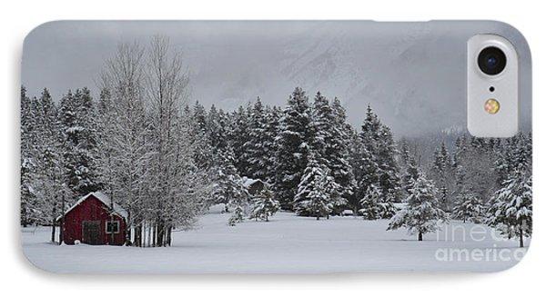 Montana Morning IPhone Case by Diane Bohna