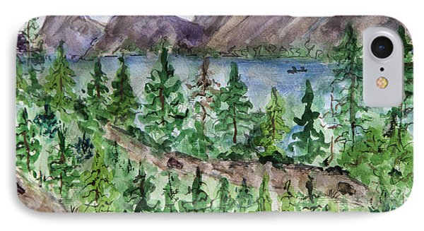 A Road To The Sun In Glacier Park IPhone Case