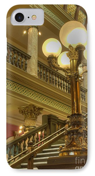 Montana State Capitol IPhone Case by Juli Scalzi