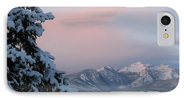 Montana Winter IPhone Case