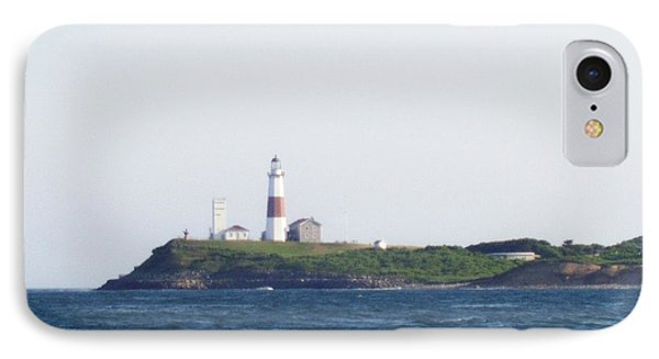Montauk Lighthouse From The Atlantic Ocean IPhone Case