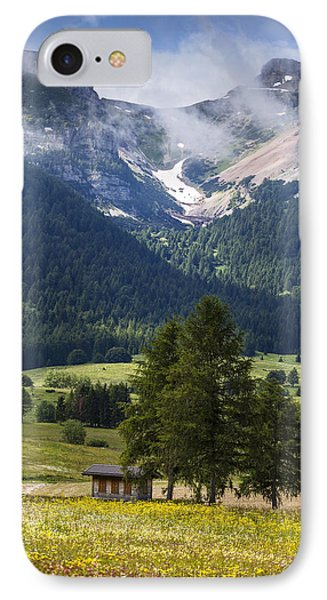 Monte Bondone IPhone Case by Alfio Finocchiaro