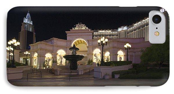Monte Carlo Resort - Las Vegas IPhone Case