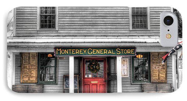 Montery General Store - Selective Color Version IPhone Case