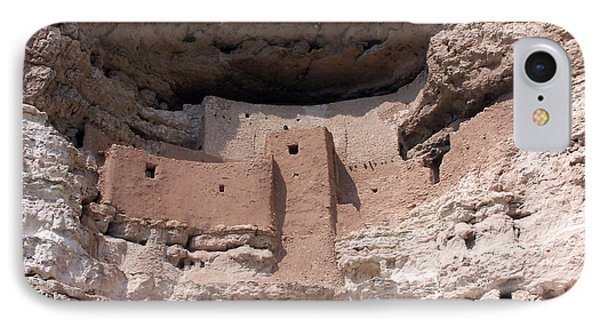 Montezuma Castle 1 IPhone Case by Tom Doud