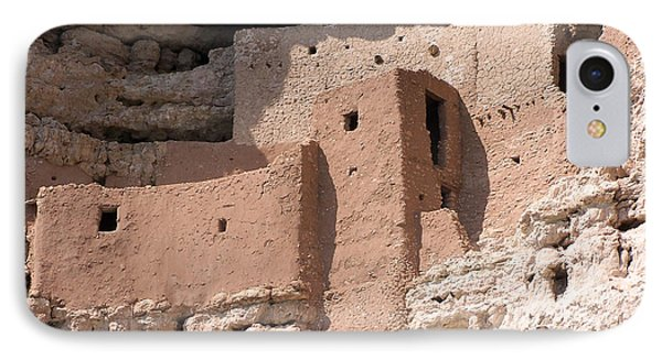 Montezuma Castle 2 IPhone Case by Tom Doud