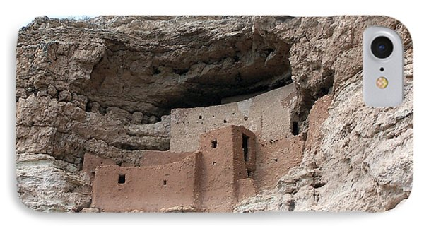 Montezuma Castle 3 IPhone Case by Tom Doud