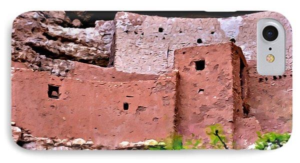 Montezuma Castle  Phone Case by Bob and Nadine Johnston