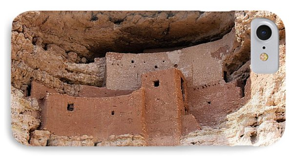 Montezuma Castle National Monument IPhone Case by Suzanne Lorenz