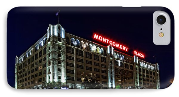 Montgomery Plaza Fort Worth IPhone Case by Jonathan Davison