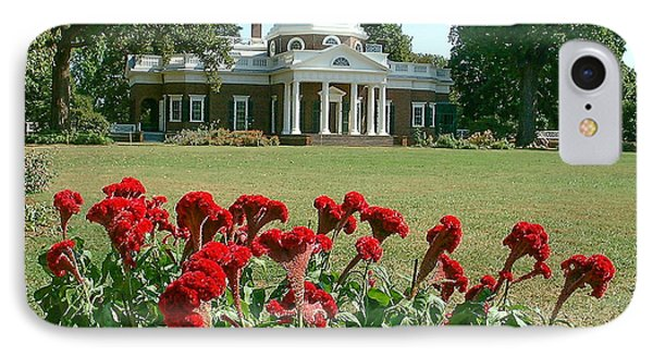 Monticello Cockscomb In Bloom IPhone Case