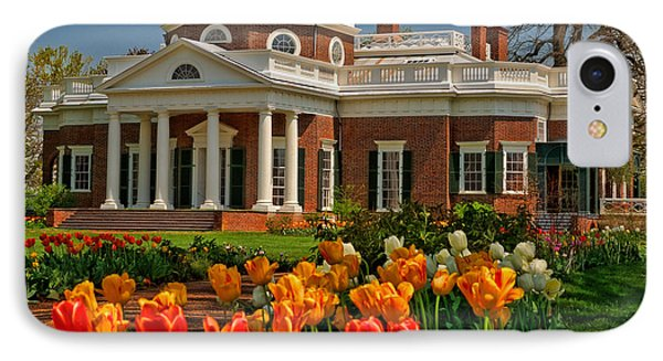 IPhone Case featuring the photograph Monticello by Nigel Fletcher-Jones