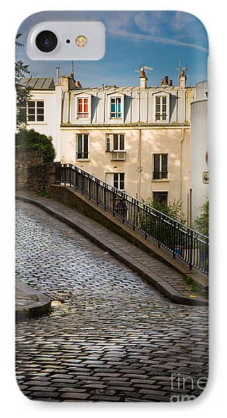 Montmartre Alley IPhone Case by Inge Johnsson