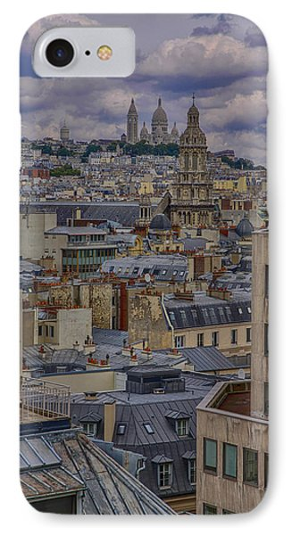 Montmartre IPhone Case by Gary Hall
