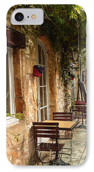 IPhone Case featuring the photograph French Cafe by Dany Lison