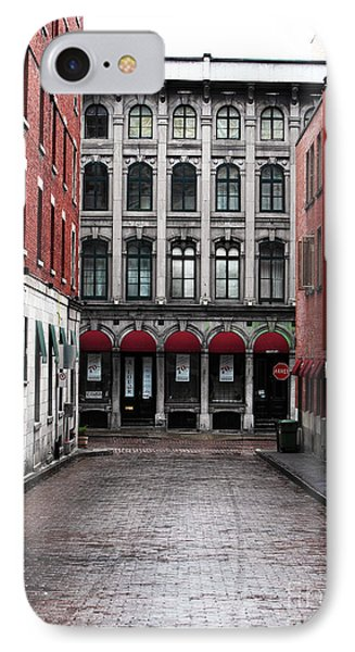 Montreal Alley Phone Case by John Rizzuto