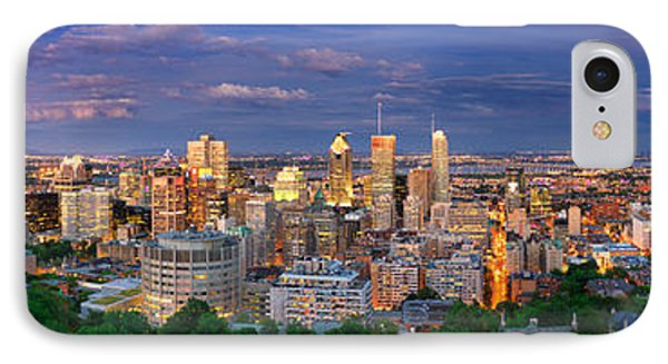 Montreal By Night From The Mount Royal Lookout IPhone Case