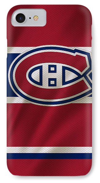 Montreal Canadiens Uniform IPhone Case