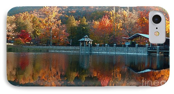 Montreat Autumn IPhone Case by Lydia Holly