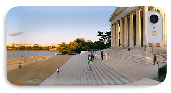 Jefferson Memorial iPhone 7 Case - Monument At The Riverside, Jefferson by Panoramic Images