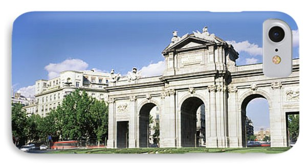 Monument In A City, Alcala Gate, Plaza IPhone Case