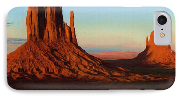 Monument Valley 2 IPhone Case by Ayse Deniz