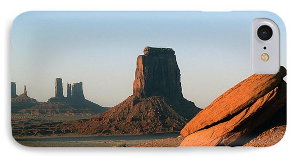 IPhone Case featuring the photograph Monument Valley Afternoon by Jeff Brunton