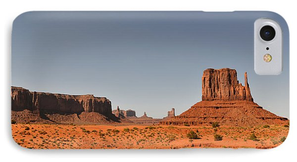 Monument Valley - Beauty Created By Nature Phone Case by Christine Till