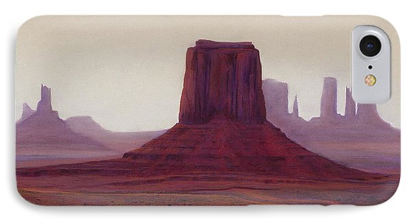 Monument Valley- Haze Phone Case by Xenia Sease