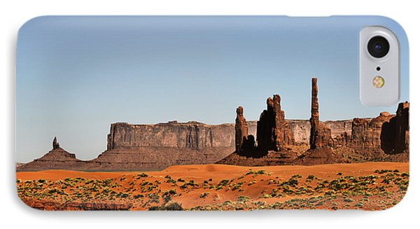 Monument Valley - Icon Of The West Phone Case by Christine Till