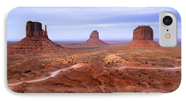 Monument Valley II IPhone Case by Butch Lombardi
