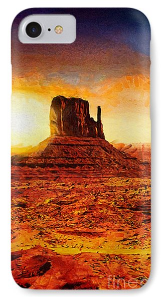 Monument Valley IPhone Case by Mo T