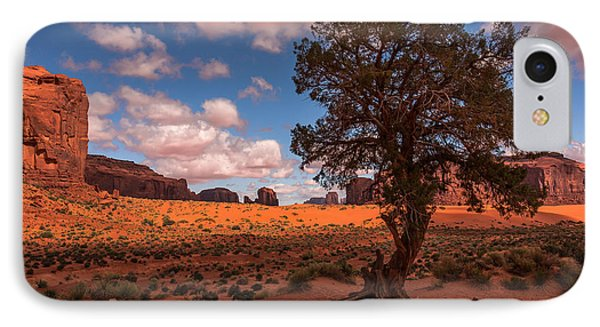 Monument Valley Morning IPhone Case by Tim Bryan