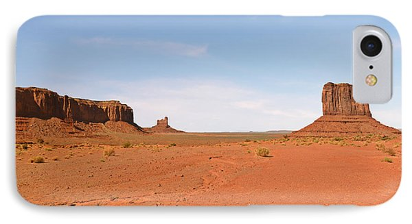 Monument Valley Navajo Tribal Park Phone Case by Christine Till