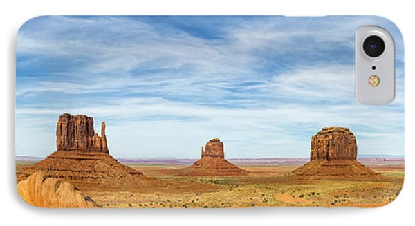 Monument Valley Panorama - Arizona IPhone Case by Brian Harig