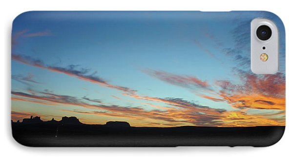 IPhone Case featuring the photograph Monument Valley Sunset 2 by Jeff Brunton